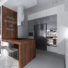 Kitchen with breakfast bar - Make yourself at home