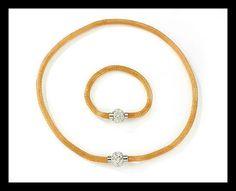 Snake and Shamballa Necklace with FREE Matching Bracelet Fashion Jewellery, Timeless Design, Compliments, Snake, Stylish, Bracelets, Gold, Free, Jewelry