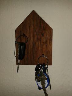 Nøglebræt i teaktræ