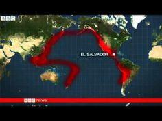 BBC News El Salvador volcano erupts spewing ash and black smoke