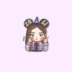 [FA] Jennie Mouse  #BLACKPINK #블랙핑크 #JENNIE #เจนนี่ #제니 #blackpinkfanart #fanart #Mayko
