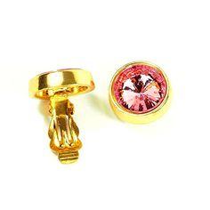 streitstones Ohrklips vergoldet rosa bis zu 50 % Rabatt Lagerauflösung streitstones http://www.amazon.de/dp/B00TEER2JU/ref=cm_sw_r_pi_dp_lBT6ub1VW4S9V, streitstones, Ohrring, Ohrringe, earring, earrings, Ohrclips, earclips, bling, silver, gold, silber, Schmuck, jewelry, swarovski