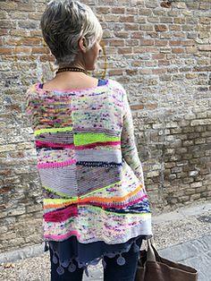 Ravelry: Jersey Erizo pattern by Lola & Punto Ravelry, Kimono, Pullover, Knitting, Hippy, Crochet, Jackets, Dresses, Clothing