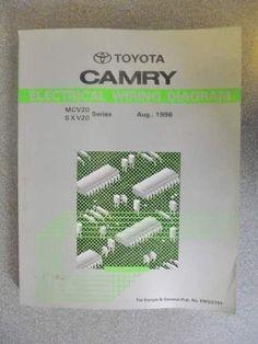 Toyota camry electrical wiring diagram manual 1999 ewd392f on ebid toyota camry electrical wiring diagram manual 1996 ewd275y swarovskicordoba Images