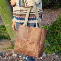 Tutorial - Make a Fused Plastic Bag Tote | Totally Tutorials | Bloglovin'