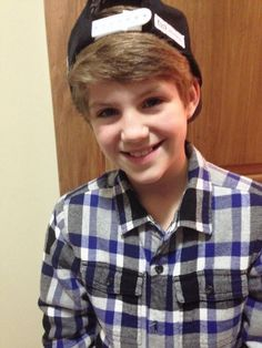 Matty B with hat on