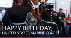 Happy Birthday United States Marine Corps ~ Celebrating 241 Bad Ass years November 10, 2016  Oorah!