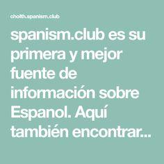spanism.club es su primera y mejor fuente de información sobre Espanol. Aquí también encontrará temas sobre cuestiones de interés general. ¡Deseamos que encuentre lo que está buscando! Club, Dress, Scrub Caps, I Found You, Fonts, Searching, Remedies, Get Well Soon, Party