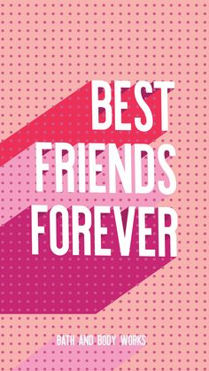 Best Friends Forever iPhone Wallpaper
