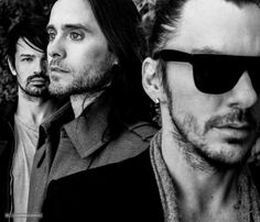 Thirty Seconds To Mars.- Jared Leto, Shannon Leto and Tomo Milicevic.- Photoshoot by Chadwick Tyler.- 2013 #LoveLustFaithDreams (via https://vk.com/wall-6466268_238002