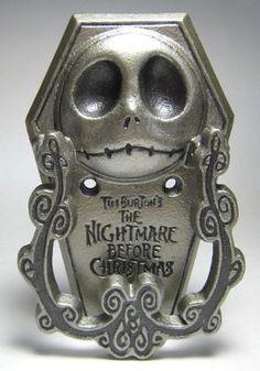 Jack Skellington door knocker from Fantasies Come True