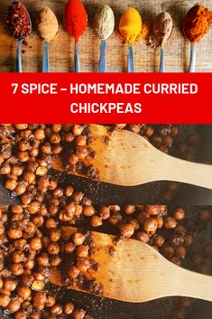 Everyday ingredients that everyone has and anyone can make. Use as a topping on some great flat breads, add into a salad, wrap they are delicious! 7 Spice, Turmeric Spice, Hottest Curry, Homemade Curry, Chickpea Curry, South African Recipes, Chickpea Recipes, Vegetarian Paleo