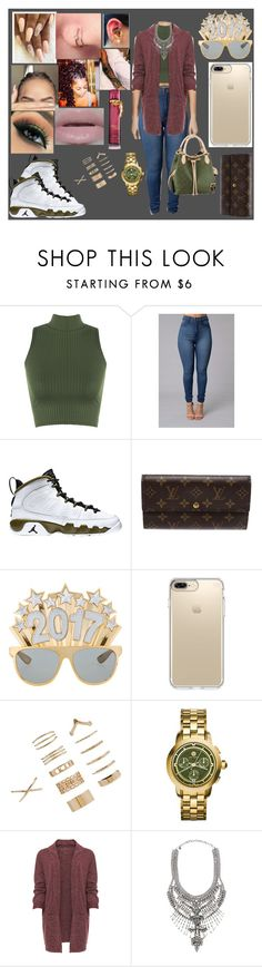 """Untitled #149"" by ayannalovebug ❤ liked on Polyvore featuring WearAll, Retrò, Louis Vuitton, Speck, Forever 21, Tory Burch, DYLANLEX and plus size clothing"