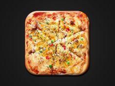Pizza Shot by Boris Wick