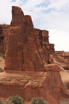 If you're into weird orange rocks, then this is the place for you!  It also has more arches than other places.