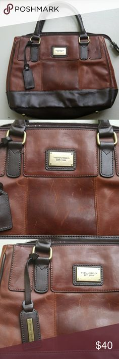 Tignanello handbag GUC - some marks on leather shown Tignanello Bags Satchels