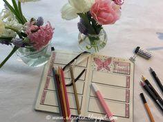 Edgarten - Gartenblog: 📘  Bullet Journal - Mai mit Schmetterlingen - Tag 47 Bullet Journal, Mai, Homeschooling, February 22, Homeschool