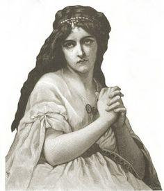 **FREE ViNTaGE DiGiTaL STaMPS**: Free Vintage Printable - Sad Lady