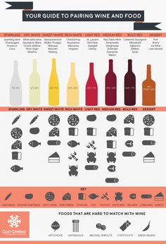Infographic: Guide to Pairing Wine & Food - Social Vignerons