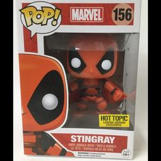 Hot Topic Store Exclusive Stingray Deadpool Funko New Store Exclusive Limited Edition Funko Pop Stingray Deadpool Funko Other