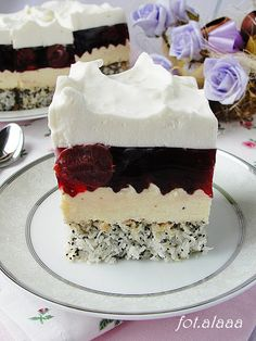 Ala piecze i gotuje Sweet Recipes, Cake Recipes, Dessert Recipes, Nutella, Polish Recipes, Food Cakes, No Bake Cake, Vanilla Cake, Cheesecake