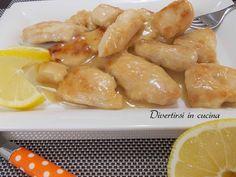 Ricetta bocconcini di pollo al limone Divertirsi in cucina
