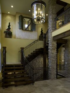 Mediterranean Staircase Grill Area Design, Pictures, Remodel, Decor and Ideas - page 2