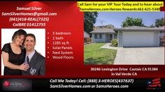 Val Verde | 5 bed 1.5 bath homes for sale in Val Verde - call HomeSmart 661-621-5340  https://gp1pro.com/USA/CA/Los_Angeles/Castaic/Val_Verde/30246_Lexington_Drive.html  Great 3 bedroom single story with awesome curb appeal, rustic country like setting with easy freeway access to I-5, wood floors, new  paint, open floorplan, move in ready! BEST PRICED 3+2 WITH TWO CAR ATTACHED GARAGE IN AREA, THIS IS NOT A MANUFACTURED HOUSE - CASTAIC CONDOS in the VAL VERDE AREA: