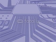Photo: microprocesseur © JNT Visual #31610510
