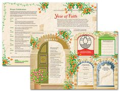 Year of Faith Poster-- We invite you to download this Sadlier poster, which provides a variety of activities and prayers to celebrate the Year of Faith!