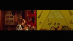 The Yellow & Red of Wes Anderson – Fubiz™