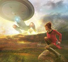 Starfleet recruiting poster?
