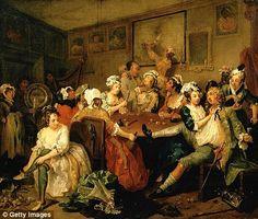 A Rakes Progress_Hogarth 1732-33