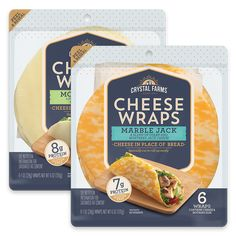 Cheese Wraps | Crystal Farms Veggie Dishes, Food Dishes, Side Dishes, Cheese Recipes, Snack Recipes, Chicken Recipes, Cooking Recipes, Snacks, Best Baked Potato