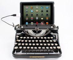 USB Typewriter Computer Keyboards