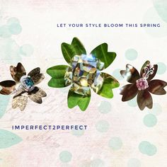 Fashion Friday: Spring will be blooming.... Is your style ready? Shop with I2P to find the Perfect accessory for this spring season  Imperfect2perfect.com #imperfect2perfect #i2p #thankfulthursday #moissanite #travel #weddingband #engagementring