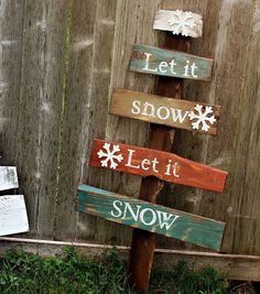 "Rustic large pallet Christmas tree ""Let it Snow"" sign reclaimed pallet wood sign christmas by WehuntWoodDecor on Etsy https://www.etsy.com/listing/211960050/rustic-large-pallet-christmas-tree-let"
