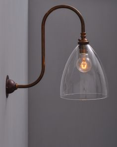 Ledbury Swan Neck Wall Light