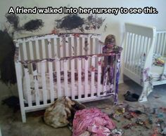 Only since I do not have kids and this has never happened to me do I find this hilarious! Otherwise, not so much..