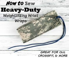 When I wrote my tutorial showing how to sew your own weightlifting wrist wraps, I had no idea it would be one of my most popular posts! I've had all sorts of comments and questions from people over...