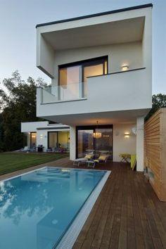 House Dr. 2U + C by LOEBELL Architects @ Krumpendorf, Austria
