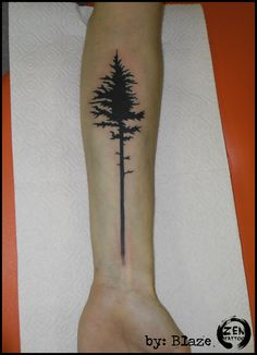 Black tree; tattoo by Blaze  www.facebook.com/zentattoozagreb