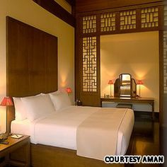 The Aman at Summer Palace; designed for escape, not exploration.