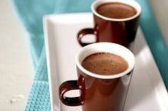 Hot Chocolate using evaporated milk and instant coffee from Sing for Your Supper - need to try this but with less sugar