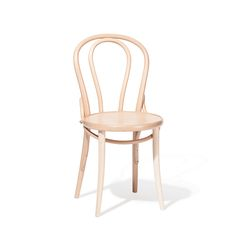 Ton's Chair no. 18 was introduced in A backrest is filled with manually bent rod that copies the outlines of the backrest. This classic chair is . Bentwood Chairs, Dining Table Chairs, Living Room Chairs, Kitchen Chairs, Ton Chair, How To Make Decorations, D 20, Design Within Reach, Restaurant Chairs