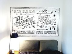 Ace Hotel NY guest room artwork