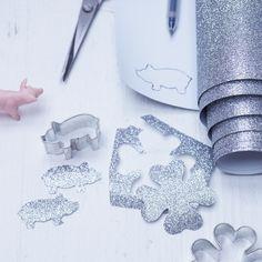 Silberklee und Funkelschweinchen