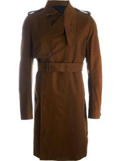 RICK OWENS 系腰带风衣. #rickowens #cloth #系腰带风衣