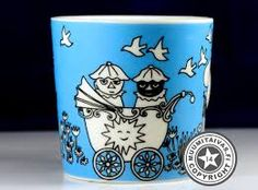 I have this Moomin mug from the 90's Rauha / Peace