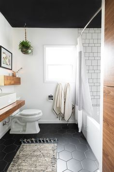 Vintage Mid Century Modern - Contemporary - Bathroom - Sacramento - by Molly Erin Designs Inc Interior Exterior, Bathroom Interior Design, Modern Contemporary Bathrooms, Modern Boho Bathroom, Contemporary Bathroom Inspiration, Contemporary Style, Mid Century Modern Bathroom, Bad Styling, Bathroom Color Schemes